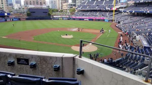 Petco Park, section: 202, row: 3, seat: 8