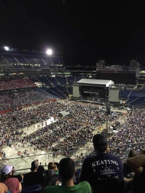 Gillette Stadium, section: 340, row: 21