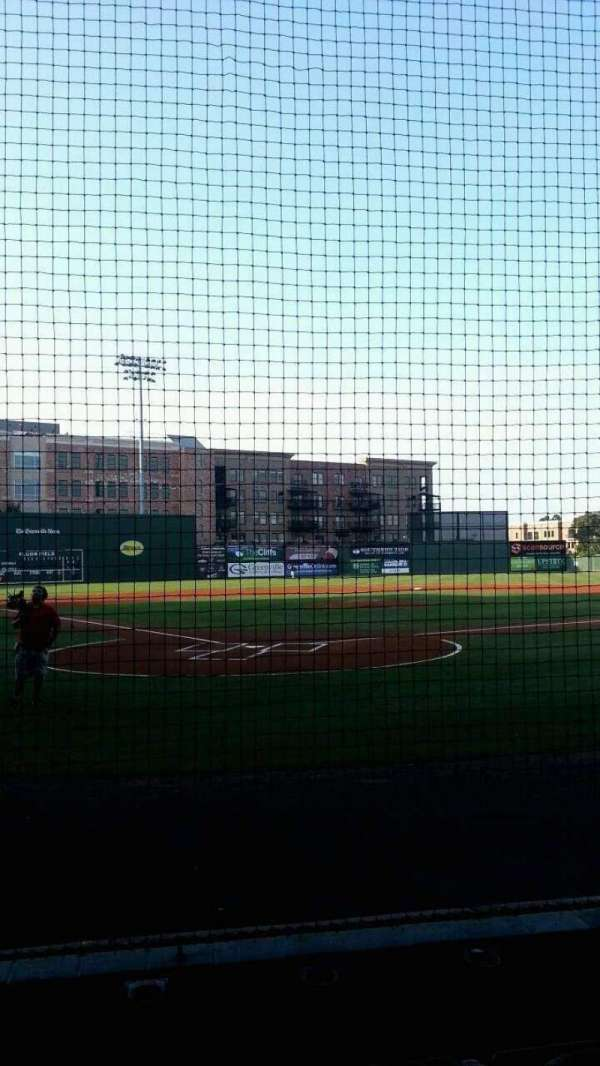Fluor Field, section: 109, row: E, seat: 13