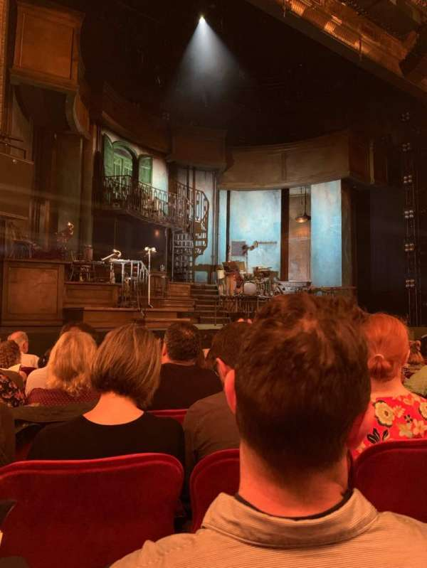 Walter Kerr Theatre, section: ORCHL, row: K, seat: 9