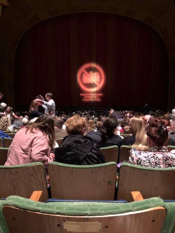 Atwood Concert Hall, section: Orchestra, row: Y, seat: 505