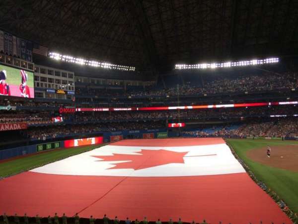 Rogers Centre, section: 237L, row: 2, seat: 107