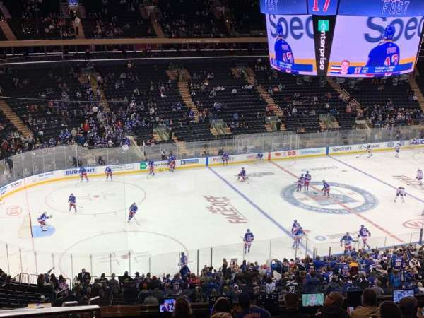 Madison Square Garden, section: 209, row: 12, seat: 2