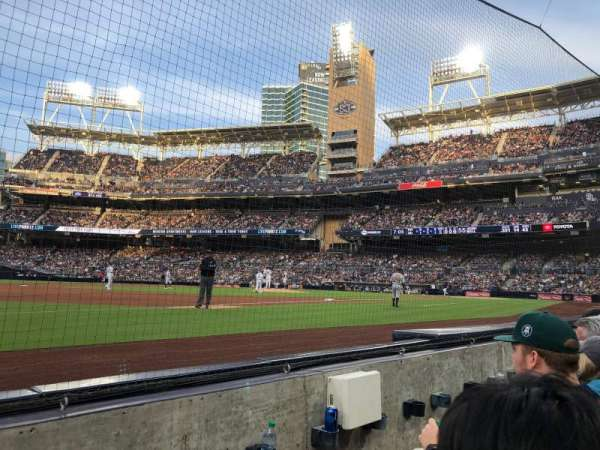 PETCO Park, section: 114, row: 2, seat: 17
