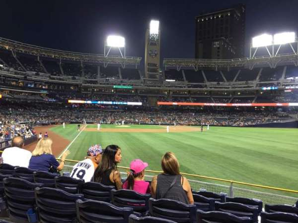 PETCO Park, section: 125, row: 23, seat: 16