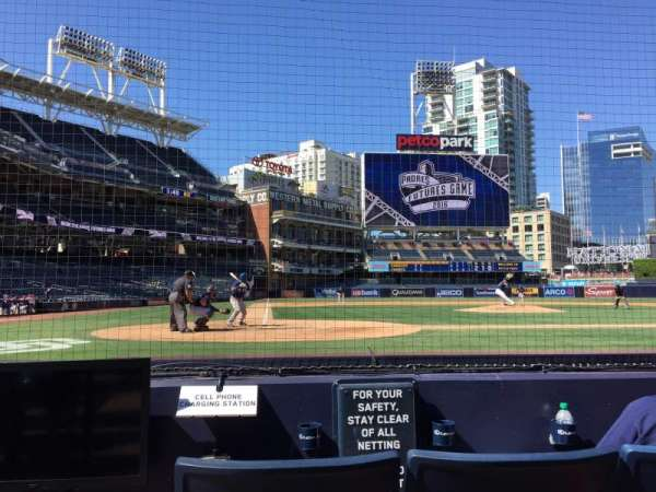 PETCO Park, section: 3, row: 2