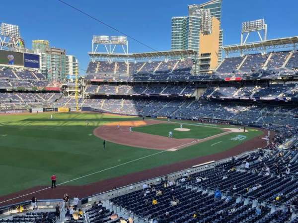 PETCO Park, section: 220, row: 1, seat: 1
