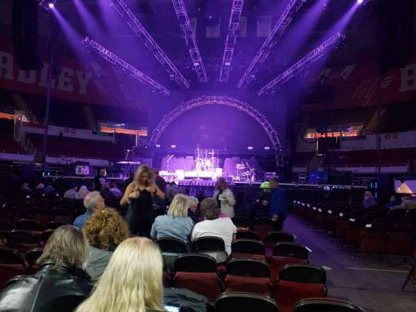 Peoria Civic Center Theater, section: Floor B, row: 17, seat: 2