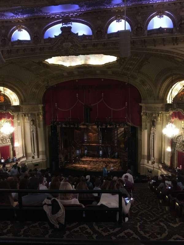 Boston Opera House, section: Ctr Balcony, row: Q, seat: 14