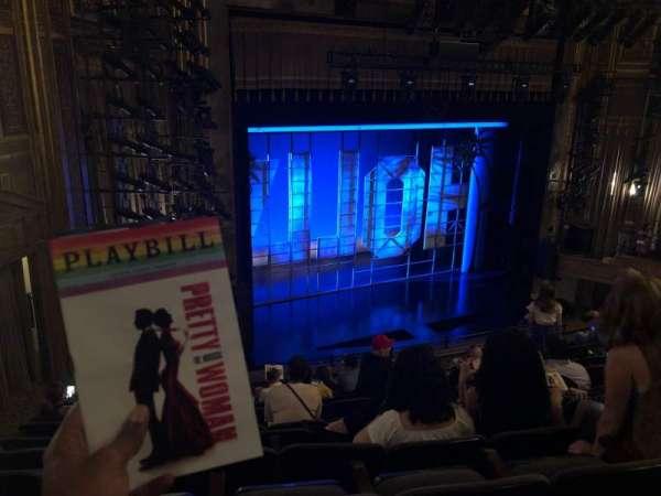 Nederlander Theatre, section: Rear Mezzanine, row: L, seat: 27