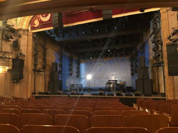 Booth Theatre, section: Orchestra , row: L, seat: 119