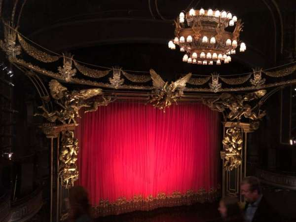 Majestic Theatre, section: Front Mezzanine L, row: D, seat: 7