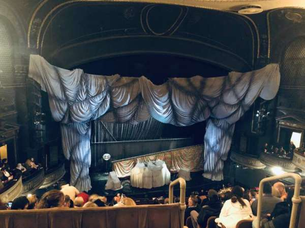 Majestic Theatre, section: Rear Mezzanine LC, row: A, seat: 119