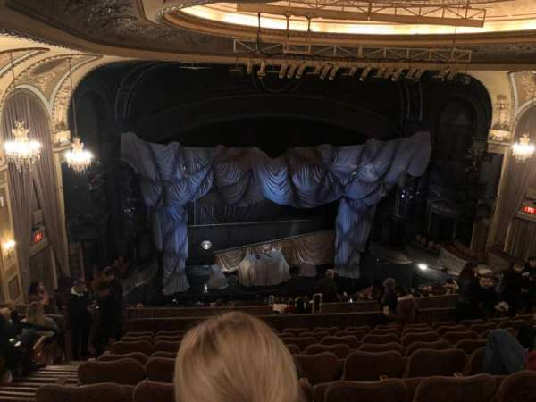 Majestic Theatre, section: Rear Mezzanine LC, row: J, seat: 125