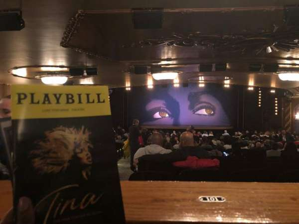 Lunt-Fontanne Theatre, section: Orchestra, row: Standing Room, seat: 101