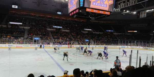 Dunkin' Donuts Center, section: 109, row: LL, seat: 13