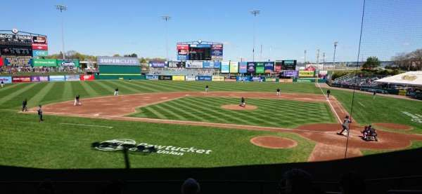 McCoy Stadium, section: 9, row: H, seat: 5