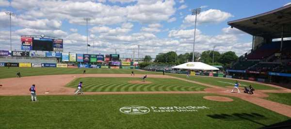 McCoy Stadium, section: 11, row: D, seat: 1