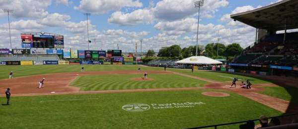 McCoy Stadium, section: 11, row: F, seat: 1