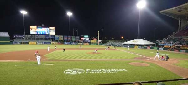 McCoy Stadium, section: 10, row: D, seat: 11