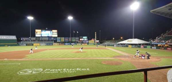 McCoy Stadium, section: 9, row: B, seat: 15