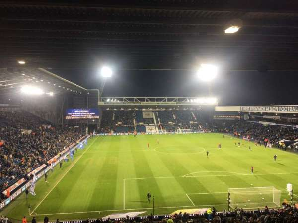 The Hawthorns, section: E7, row: VV, seat: 165
