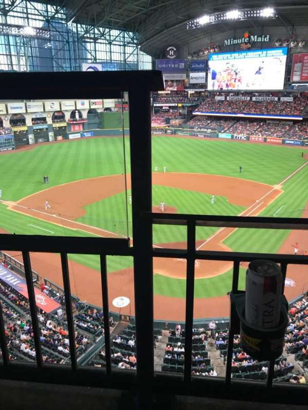 Minute Maid Park, section: 318, row: 1, seat: 1