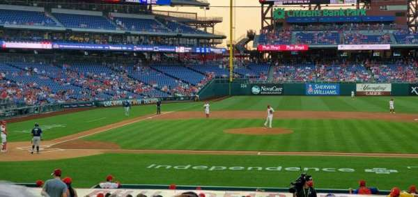 Citizens Bank Park, section: 117, row: 20, seat: 8