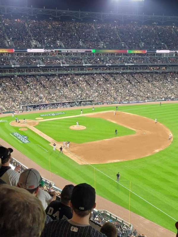 Guaranteed Rate Field, section: 514, row: 7, seat: 6