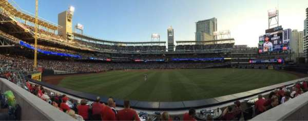 PETCO Park, section: 133, row: 1, seat: 12