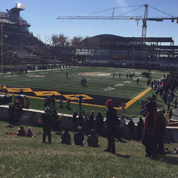 Faurot Field, section: HILL, row: G01, seat: 401