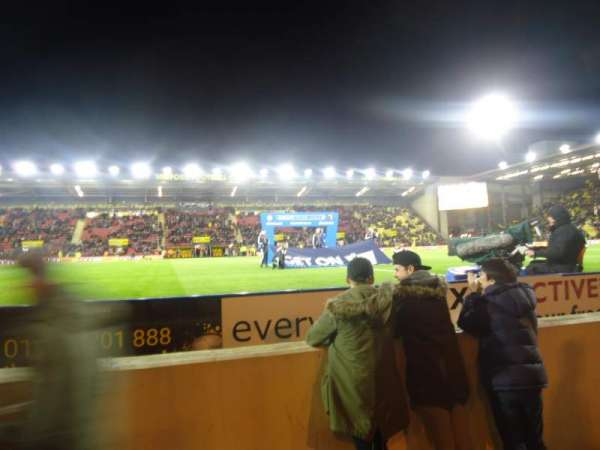 Vicarage Road, section: LGT3, row: CC, seat: 102