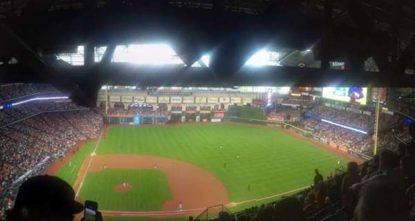 Minute Maid Park, section: 424, row: 17, seat: 9