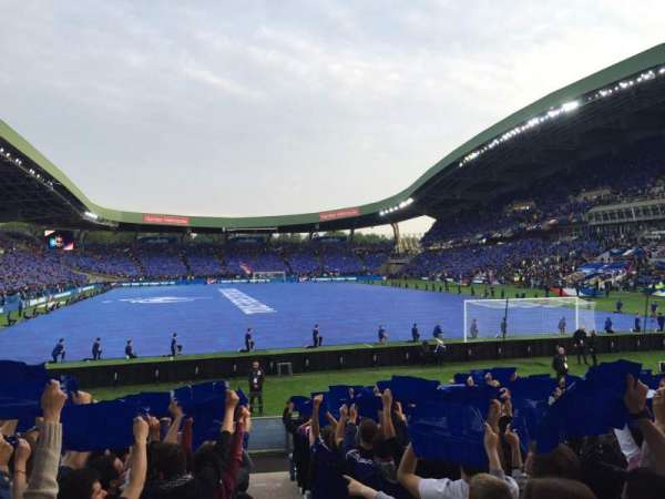 Stade de la Beaujoire, section: Erdre, row: E2F-T, seat: 225