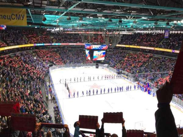 Ice Palace, section: 401, row: 9, seat: 116
