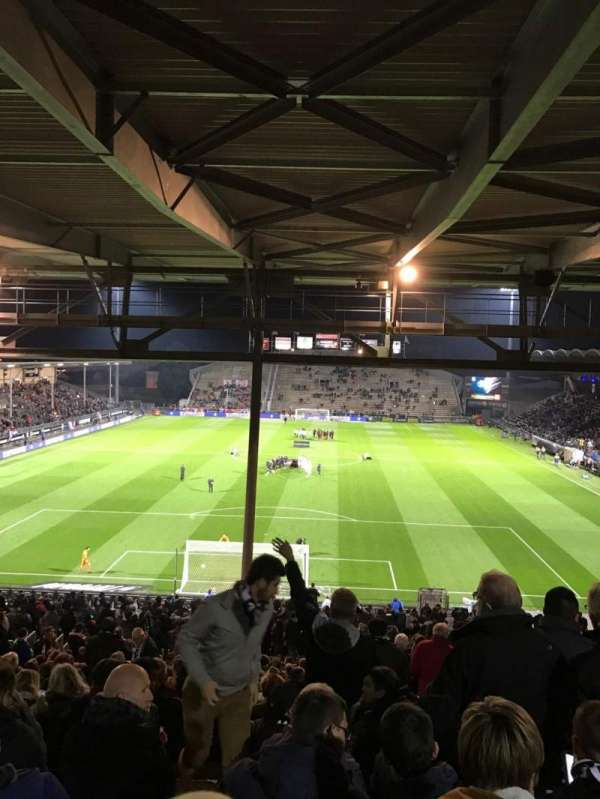 Stade Raymond Kopa, section: Coubertin C, row: AL, seat: 132