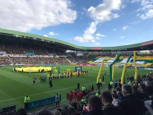 Stade de la Beaujoire, section: Presidentielle, row: O, seat: 205