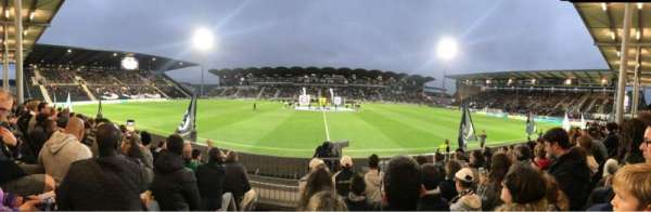 Stade Raymond Kopa, section: Saint leonard Centrale, row: F, seat: 28