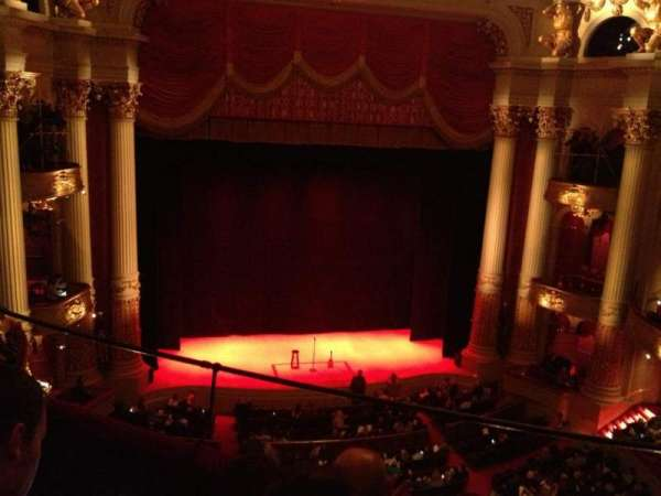 Academy of Music, section: Family Circle F, row: C, seat: 7