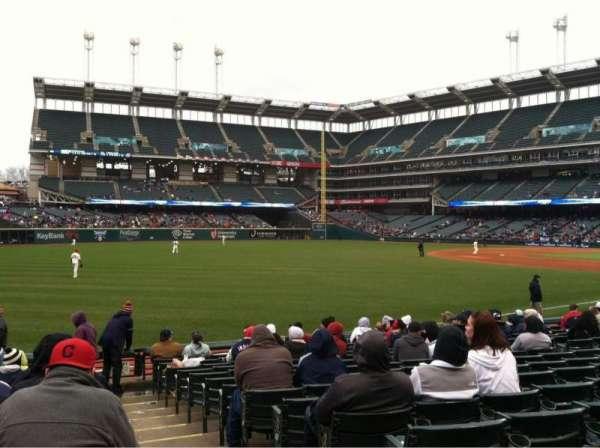 Progressive Field, section: 175, row: P, seat: 1