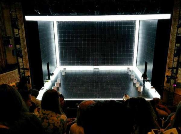 Ethel Barrymore Theatre, section: Front Mezzanine R, row: E, seat: 8