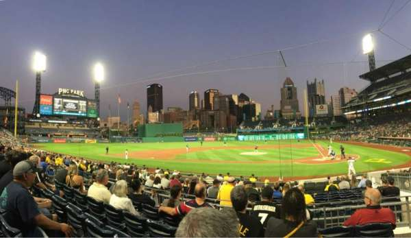 PNC Park, section: 120, row: E, seat: 5