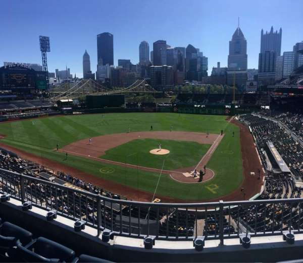 PNC Park, section: 219, row: C, seat: 10