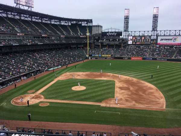 Guaranteed Rate Field, section: 324, row: 5, seat: 15