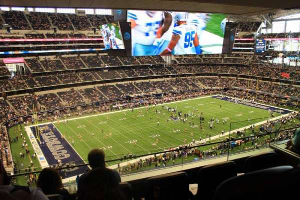 AT&T Stadium, section: Suite 510, row: 1, seat: 6
