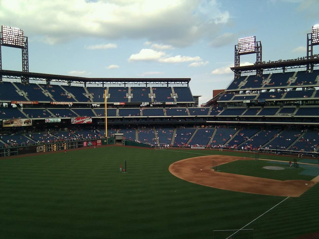 Citizens Bank Park Section 237 Row 6 Seat 16