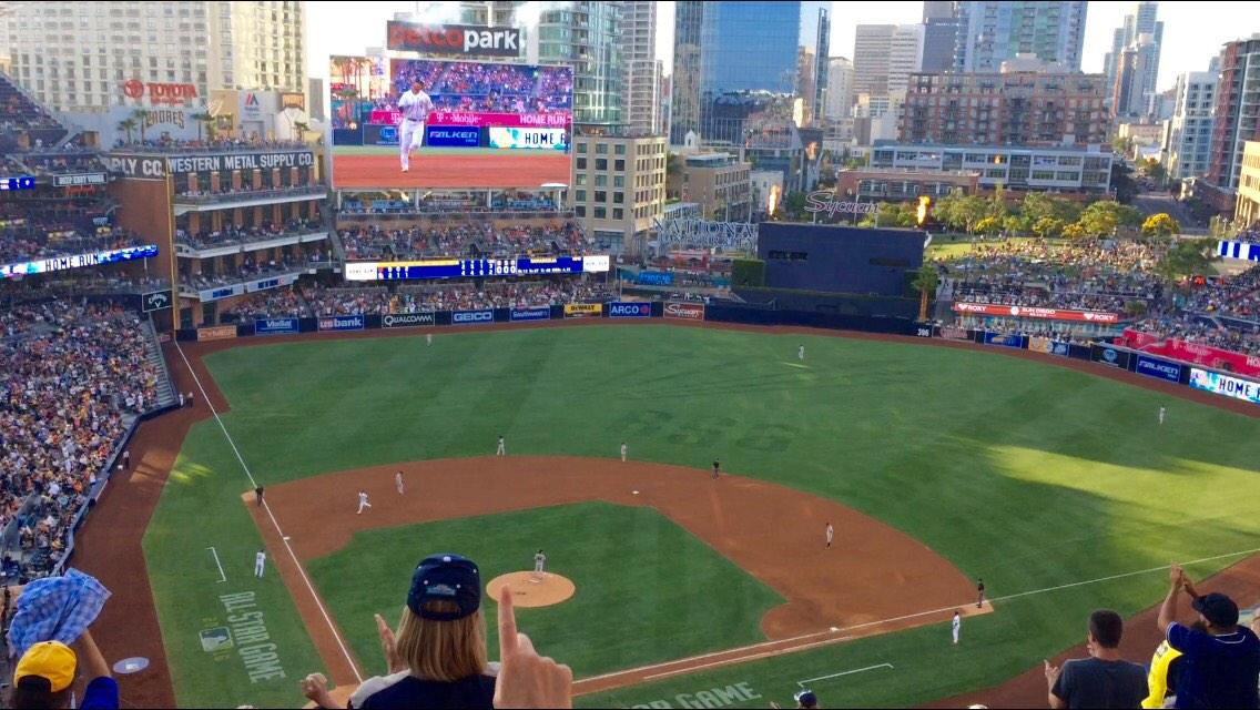 PETCO Park Section 305 Row 16 Seat 6