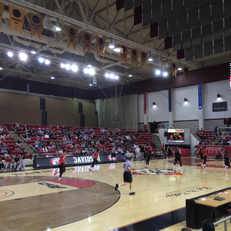 John M. Belk Arena Section 5 Row D Seat 2