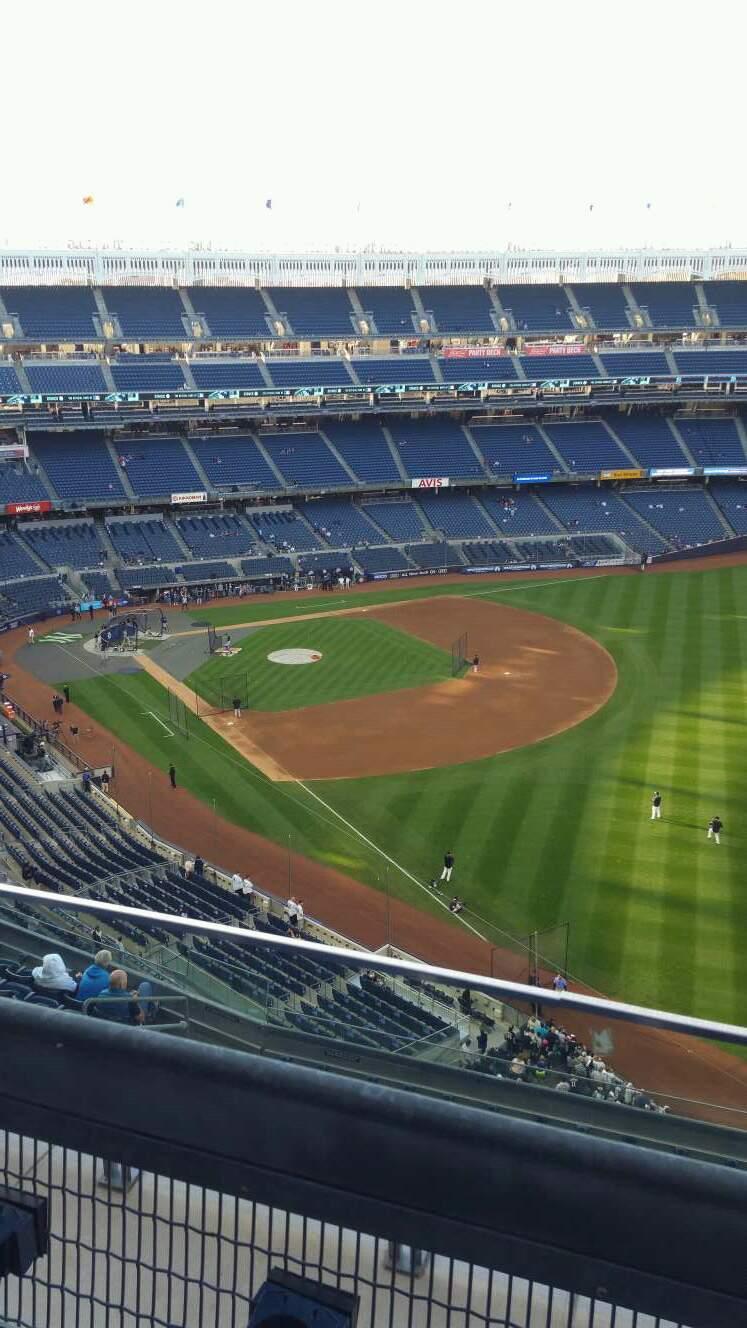 Yankee Stadium Section 409 Row 2 Seat 9