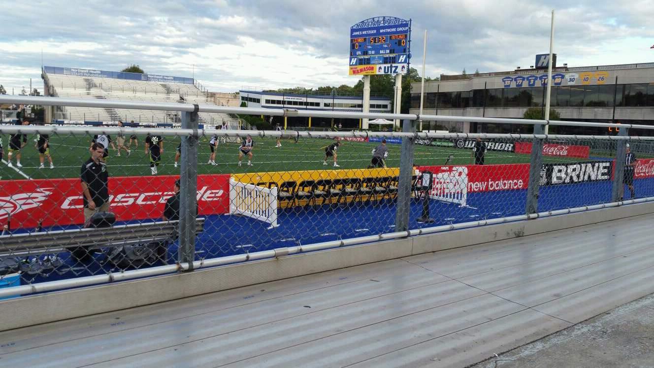 James M. Shuart Stadium Section 3 Row 1 Seat 13